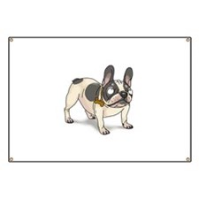 French bulldogs Banner
