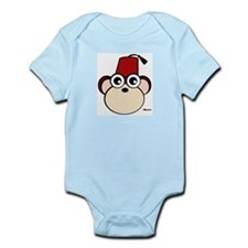 Fez Monkey Infant Creeper