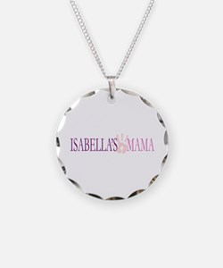 Isabella's Mama Necklace Circle Charm
