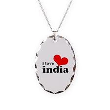 I Love India Necklace