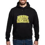 Happy Easter Retro Hoodie (dark)