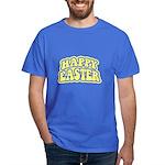 Happy Easter Retro Dark T-Shirt