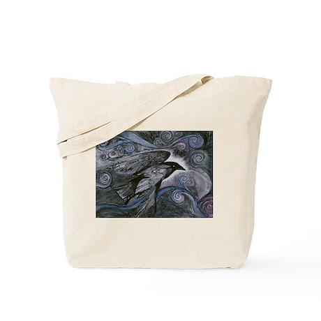Night Raven Tote Bag