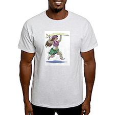 sUrFeRgIrL Ash Grey T-Shirt