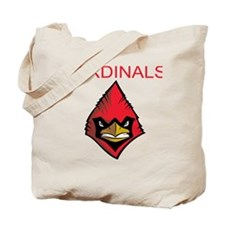 Cute Louisville cardinals Tote Bag