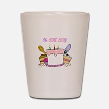 The Cake lady Shot Glass