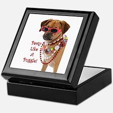Cute Puggle Keepsake Box