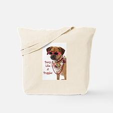Cute Pug beagle Tote Bag