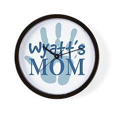 Wyatt's Mom Wall Clock