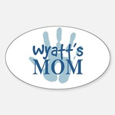Wyatt's Mom Decal