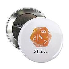 """d20 2.25"""" Button (10 pack)"""