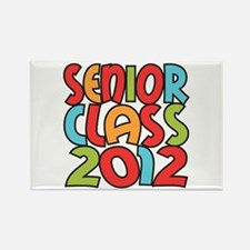 SENIOR CLASS 2012 Rectangle Magnet