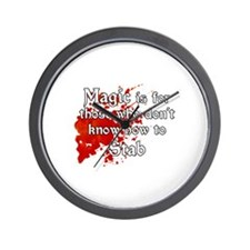 Cute Fantasy roleplaying Wall Clock