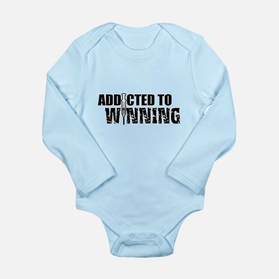 Addicted to Winning Long Sleeve Infant Bodysuit