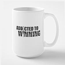Addicted to Winning Large Mug