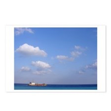 Boat in the Water Postcards (Package of 8)