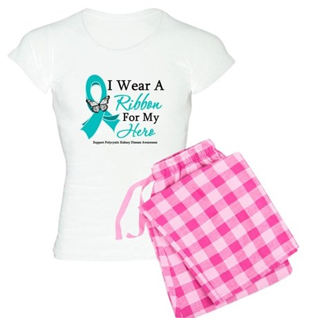 PKD I Wear A Teal Ribbon Women's Light Pajamas