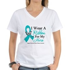 PKD I Wear A Teal Ribbon Shirt