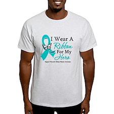 PKD I Wear A Teal Ribbon T-Shirt