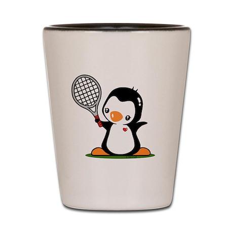 I Like Tennis Shot Glass