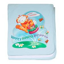 Hippity Hoppity baby blanket