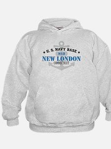 US Navy New London Base Hoodie