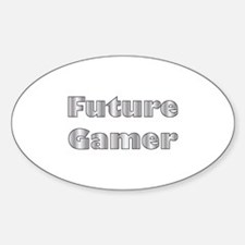 Future Gamer Oval Decal
