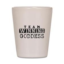 Team Winning - Goddess Shot Glass