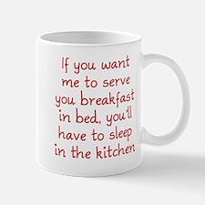 Breakfast in Bed Mug