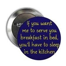 """Breakfast in Bed 2.25"""" Button (10 pack)"""