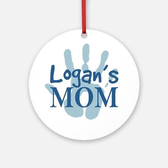 Logan's Mom Ornament (Round)