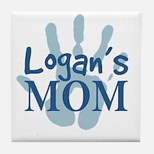 Logan's Mom Tile Coaster