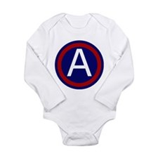 3rd Army Long Sleeve Infant Bodysuit