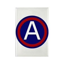 3rd Army Rectangle Magnet