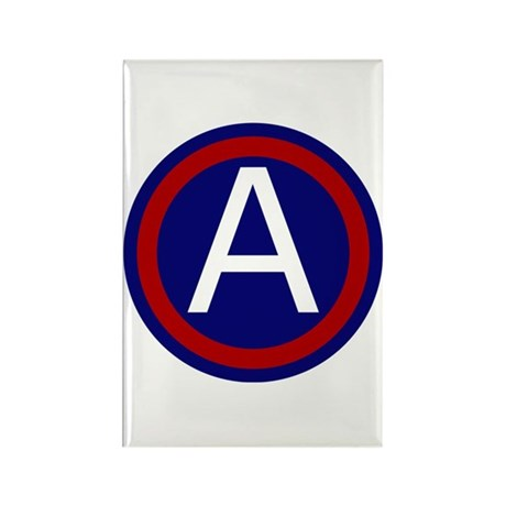 3rd Army Rectangle Magnet (100 pack)