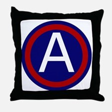 3rd Army Throw Pillow
