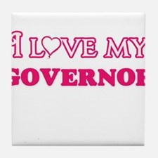 I love my Governor Tile Coaster