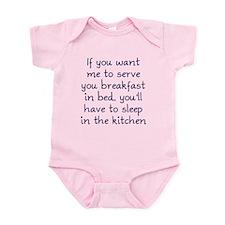 Breakfast in Bed Infant Bodysuit