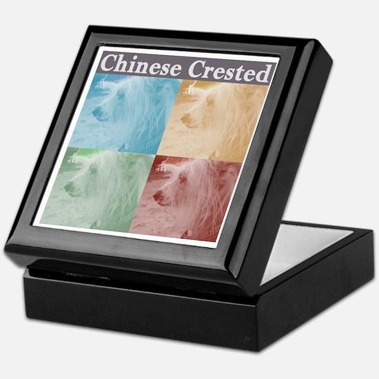 Chinese Crested Keepsake Box