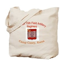 1st Bn 15th Field Artillery Tote Bag