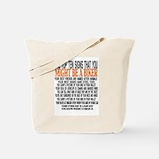 TOP TEN SIGNS Tote Bag