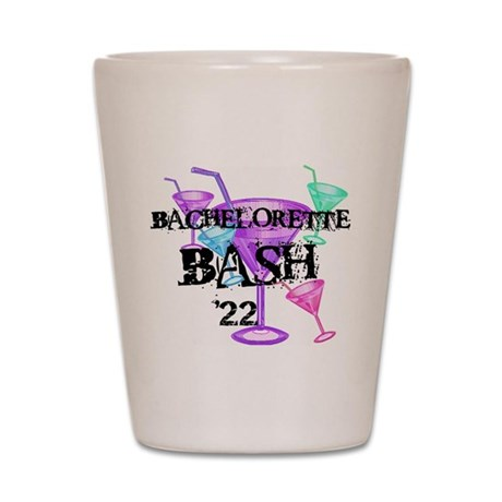 Cocktails Bachelorette Bash 17 Shot Glass