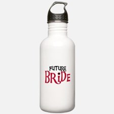Future Bride Red Water Bottle