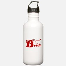 Future Bride (red) Water Bottle
