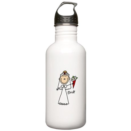 Stick Figure Bride Stainless Water Bottle 1.0L