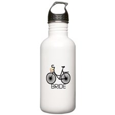 Bicycle Bride Sports Water Bottle
