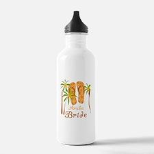Tropical Aruba Bride Water Bottle