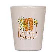 St. Croix Bride Shot Glass