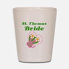 St. Thomas Bride Shot Glass