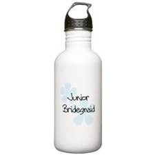 Funny Peacock weddings Water Bottle